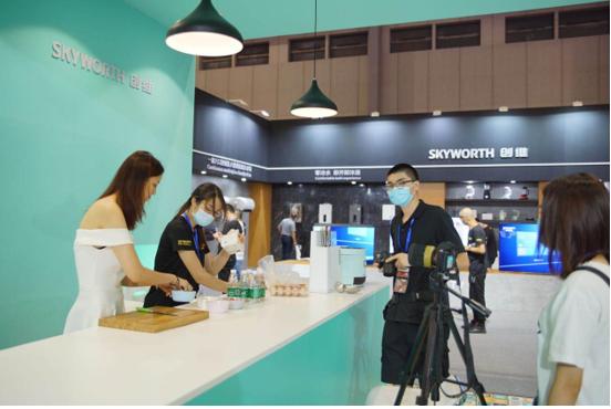 创维薄镜烟机,惊艳2020中国(顺德)家电博览会